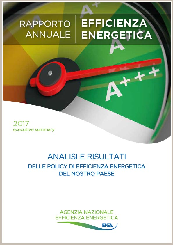 Avvenia Rapporto Efficienza Energetica Enea