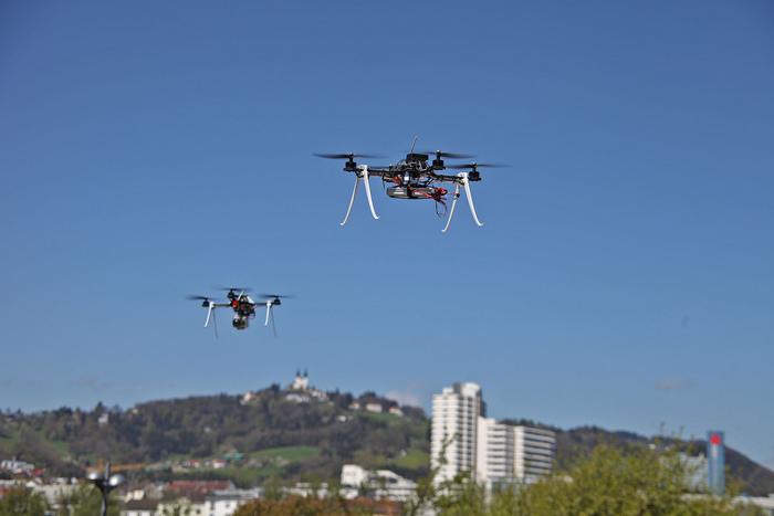 Sciami di droni - Controllo mentale