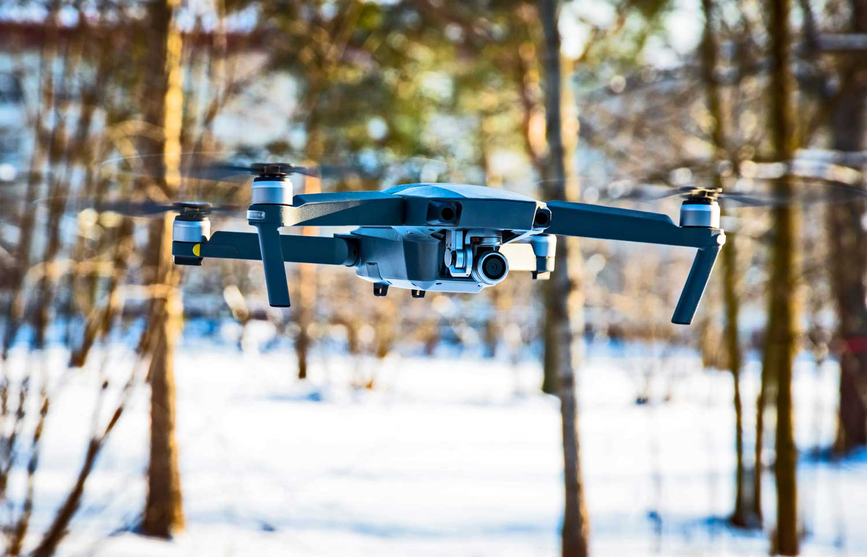 sciami di droni