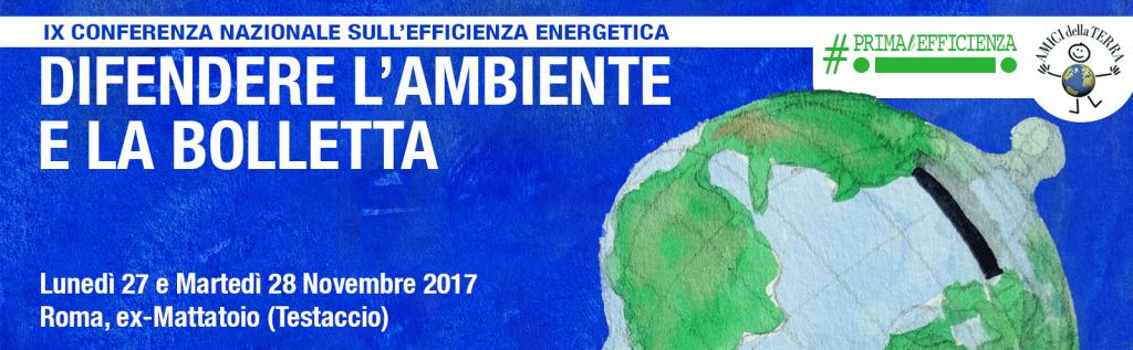 Conferenza Nazionale sull'Efficienza Energetica