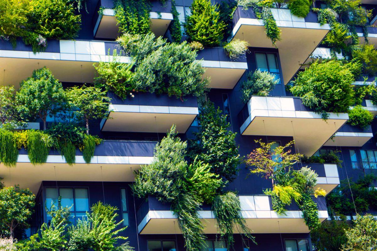 Giardini Verticali Bosco verticale Milano Italia