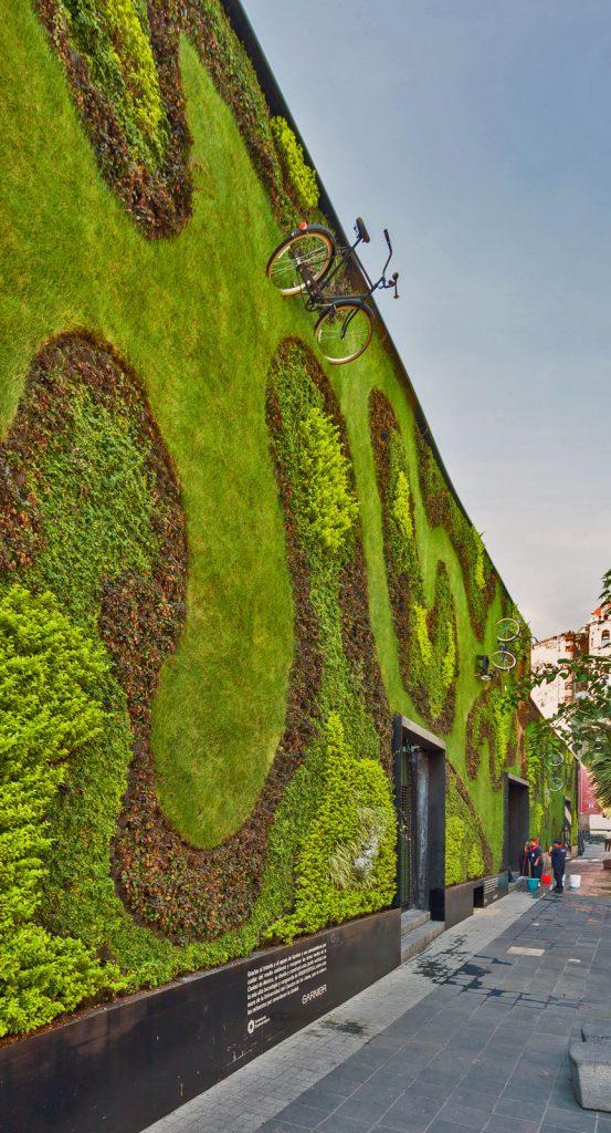 Giardini Verticali Messico all'aperto