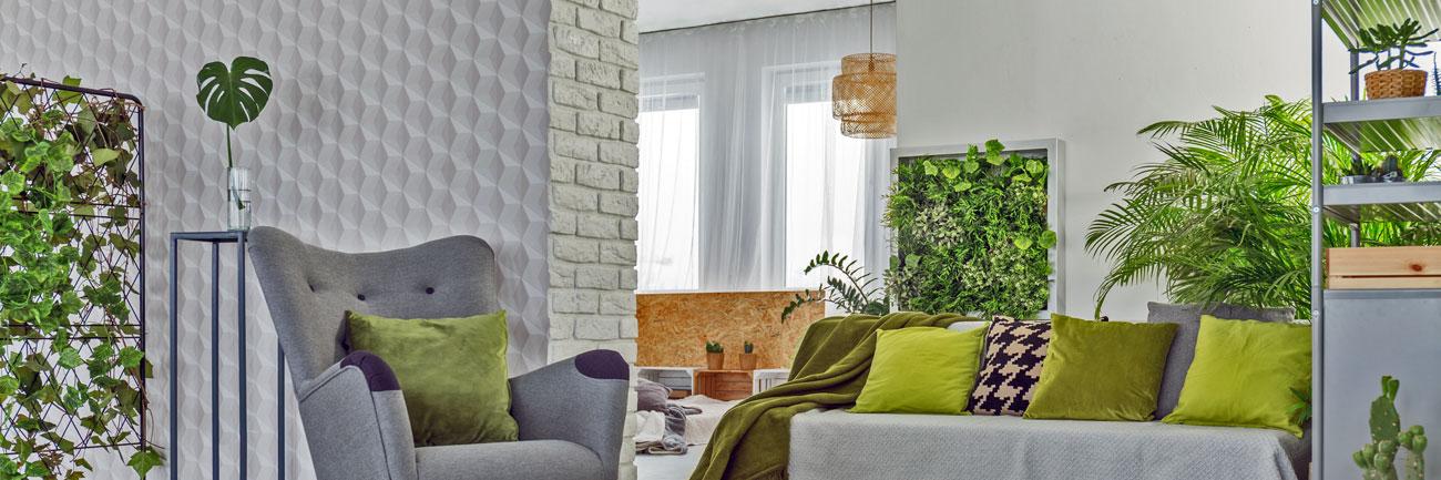 Giardini Verticali Interno Appartamento Arredo