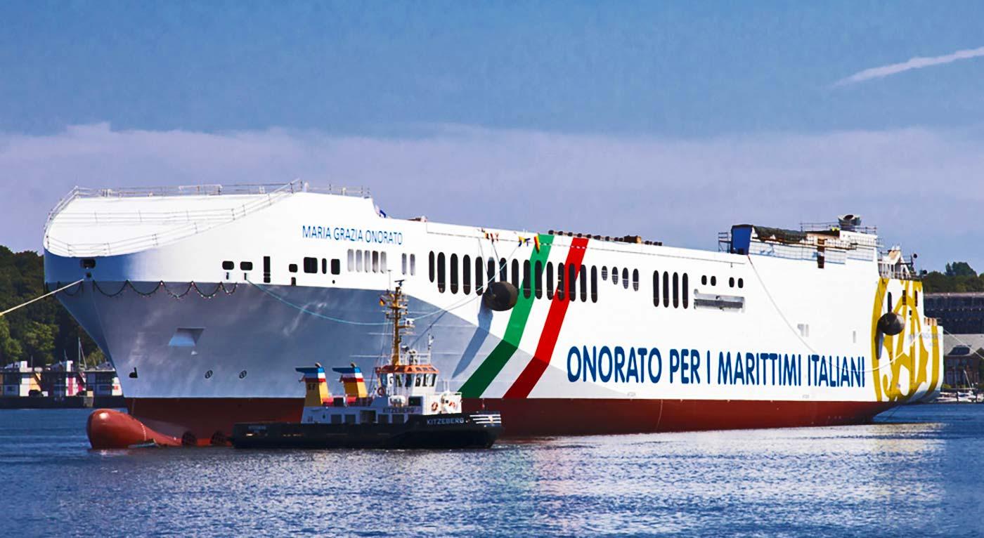 Nave traghetto Green Mediterraneo Maria Grazia Onorato
