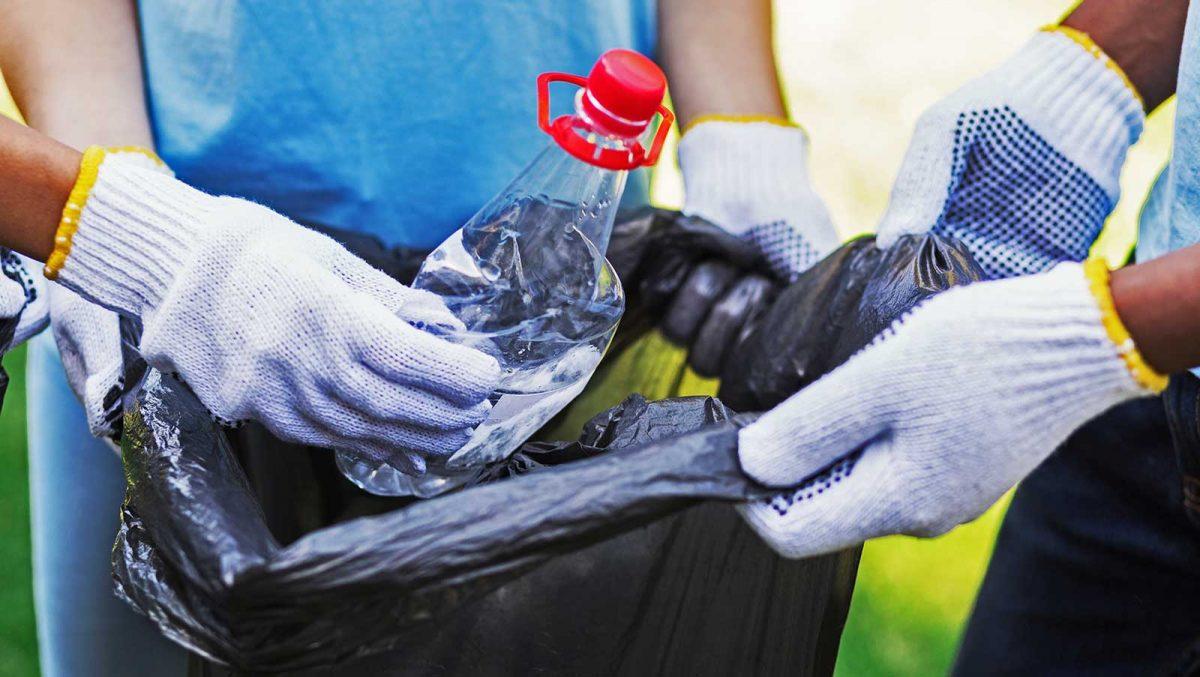 Plastica in Carburante Riciclo Rifiuti trasformare