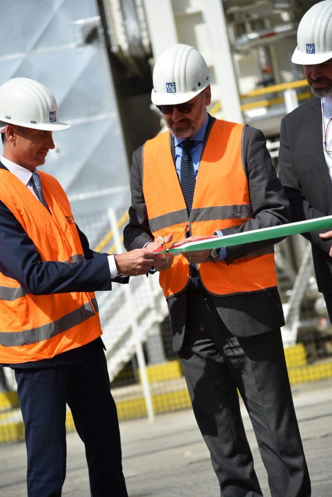 Avvenia AST Inaugurazione Nuovo Impianto Acciaio Terni 2019