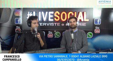 LiveSocial Intervista a Francesco Campaniello Direttore Generale Avvenia