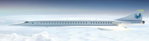 Overture l'aereo che non inquina