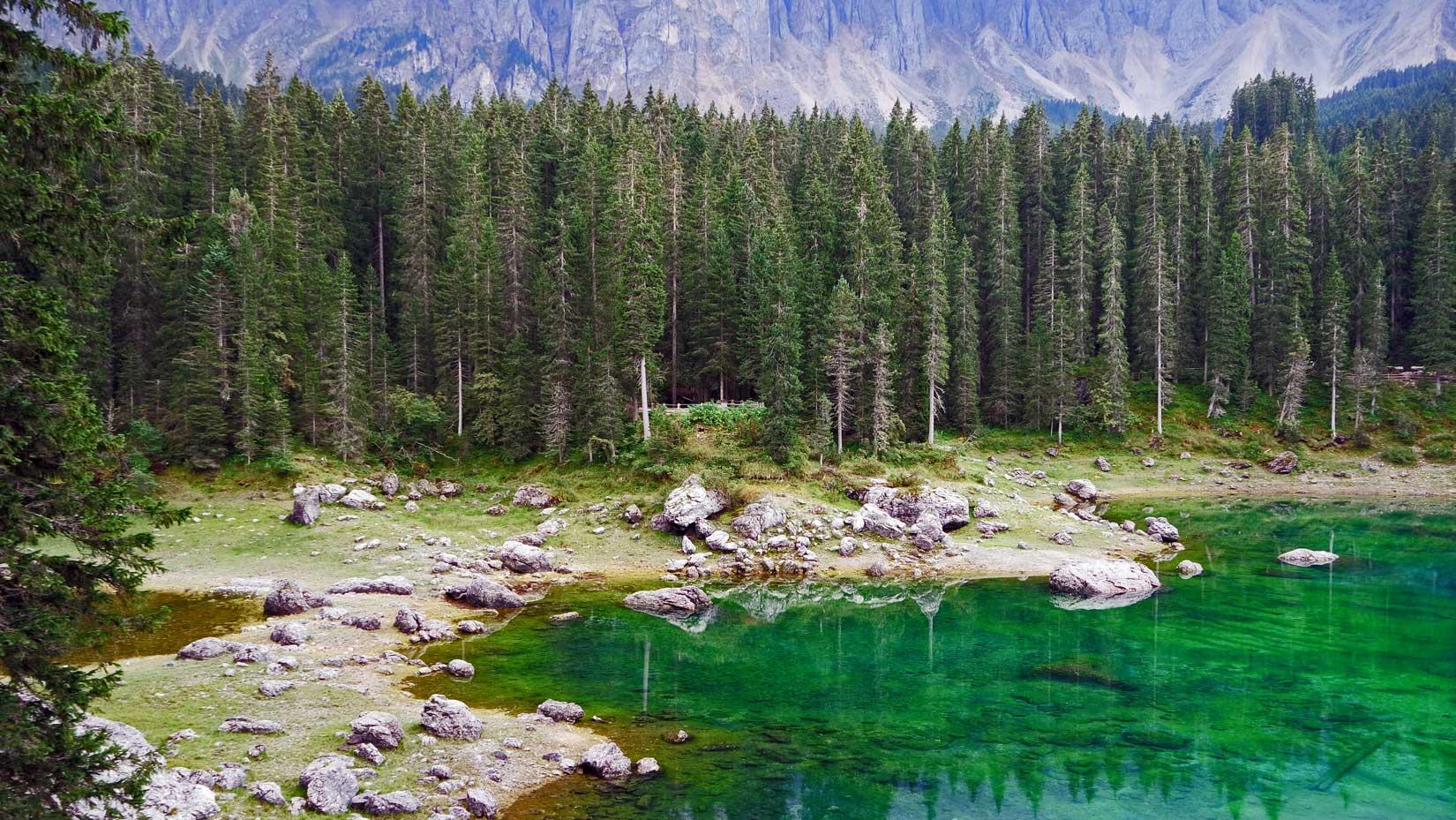 Parchi Italiani Lago di Carezza