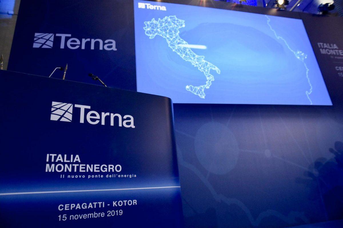 Inaugurazione Cavidotto Italia Montenegro 2019 Terna