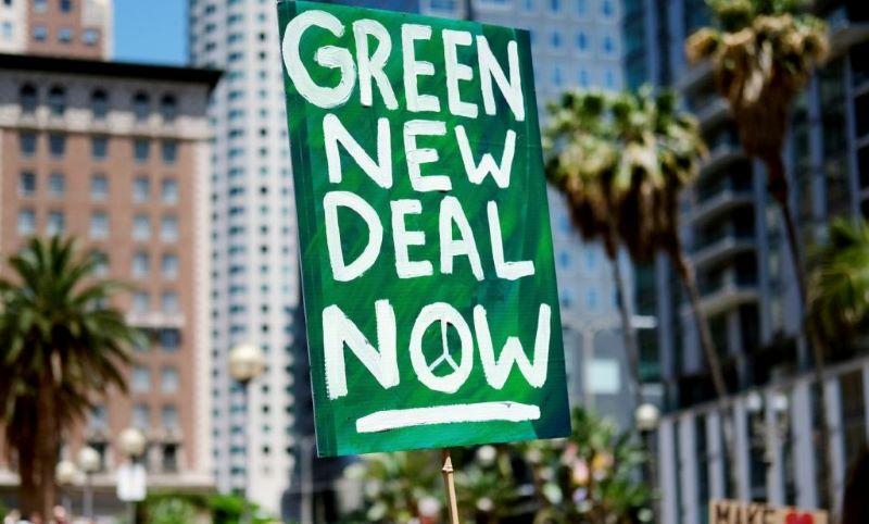 Un nuovo green deal per ripartire - Logo Green New Deal