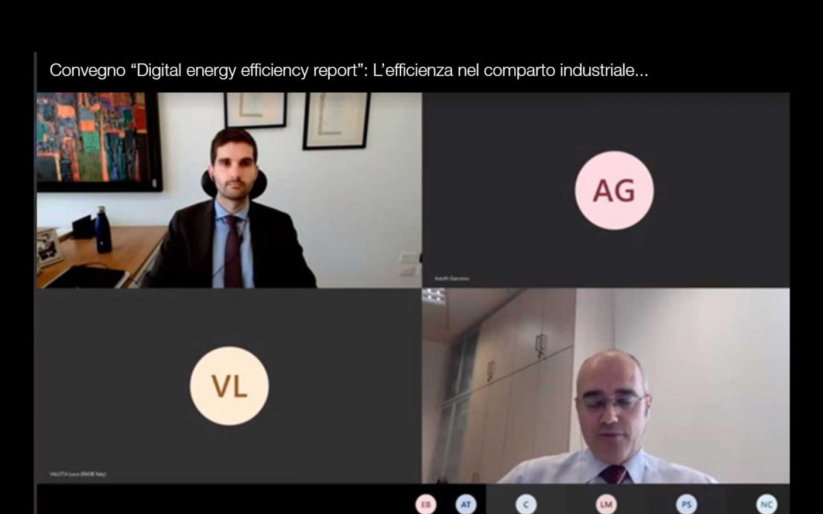 "Francesco Campaniello Avvenia Polimi Convegno ""Digital energy efficiency report"""