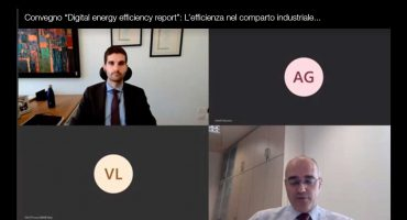"Francesco Campaniello Avvenia Polimi Convegno ""Digital energy efficiency report"""